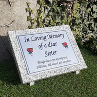 Personalised Grave Marker Grave Stone Cemetery Grave Headstone Cemetery stone