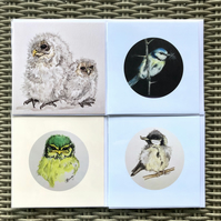 bird collection 2, contains  4 cards