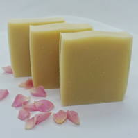 Rose Geranium with French Pink Clay Handmade Soap – Natural – Vegan