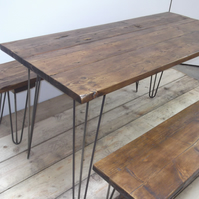 Dining Table & Benches