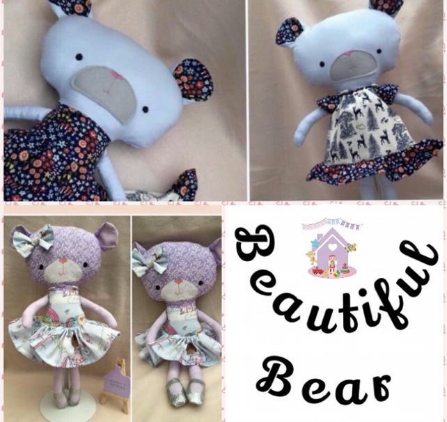 Beautiful Bear Doll