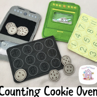 Cookie Counting Oven Educational Playset