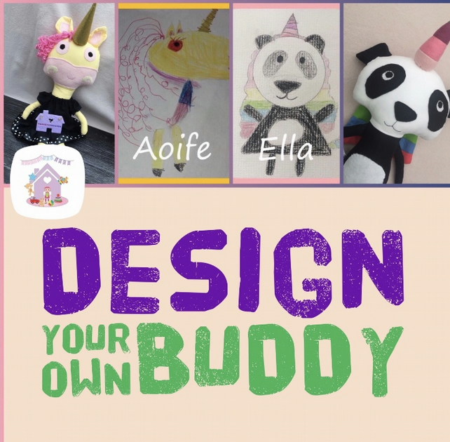 Design Your Own Buddy Soft Toy