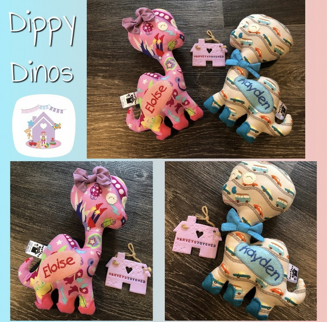 Dippy Dino Soft Toy