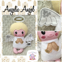 Angelic Angel Christmas Soft Toy