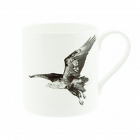 White Tailed Sea Eagle Fine Bone China Mug - FREE UK DELIVERY - White