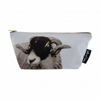 Swaedale Sheep Luxury Wash Bag - FREE UK DELIVERY