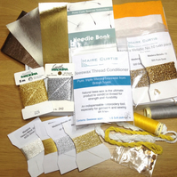 Ultimate Goldwork Embroidery Threads Pack