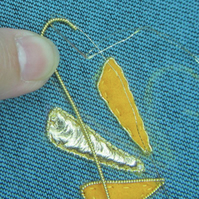 Essential Goldwork Embroidery Course - Distance Learning