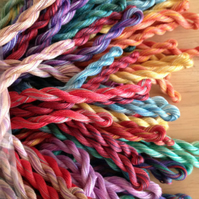 Fine Perle 16 Variegated Embroidery Thread Packs