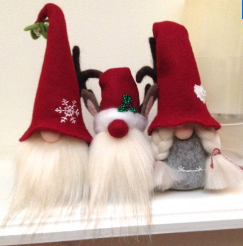 Christmas Gnomes.Christmas Felted Gnomes Nisse Tomte