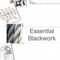 Blackwork Embroidery Beginner Course - Distance learning
