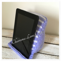 Handmade Lilac Striped Reading Rest