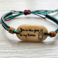 Gin and Tonic Bracelet - Gift for gin lovers