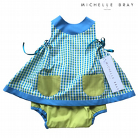 2 piece summer dress and panties - 2 Years