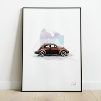 Bugged Out, Art Print