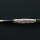 pink and clear resin Sierra twist pen FREE POSTAGE