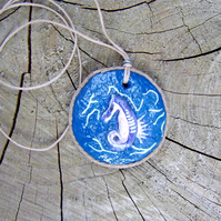 'Seahorse' Hand Made Pendant