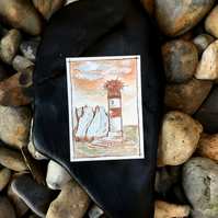 ACEO 'The Needles Lighthouse'