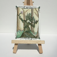 Miniature Art - Earth Elemental