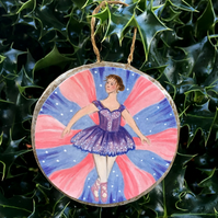 Sugar Plum Fairy - Christmas Tree Bauble
