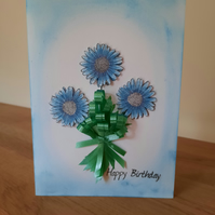 Handcrafted Birthday Cards - Birthday Wishes - Handpainted 3D Birthday Cards