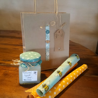 Organic Beeswax Food Wraps gift set.