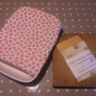 Organic Beeswax Large Food Wraps for casserole dish