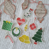 Scandi Christmas - Scandinavian inspired - Stickers - Planner - Journal