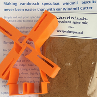 Windmill cutter and speculaas spice pack
