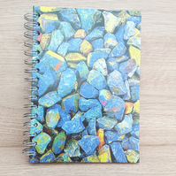 A5 lined note book