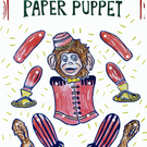 Paper Marionette Performing Monkey Puppet