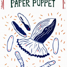 Decorate your own Paper Marionette Whale Ballerina Puppet