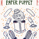 Decorate your own Paper Marionette Performing Monkey Puppet