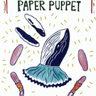 Paper Marionette Whale Ballerina Puppet