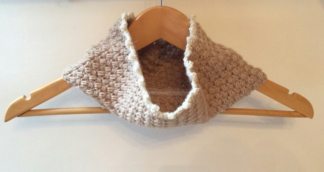 Wool and Alpaca Cowl