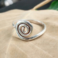 Spiral Ring, Silver Rings, Everyday Ring, 925 Silver Ring, Unique Ring