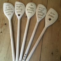 Woodentastic spoons!