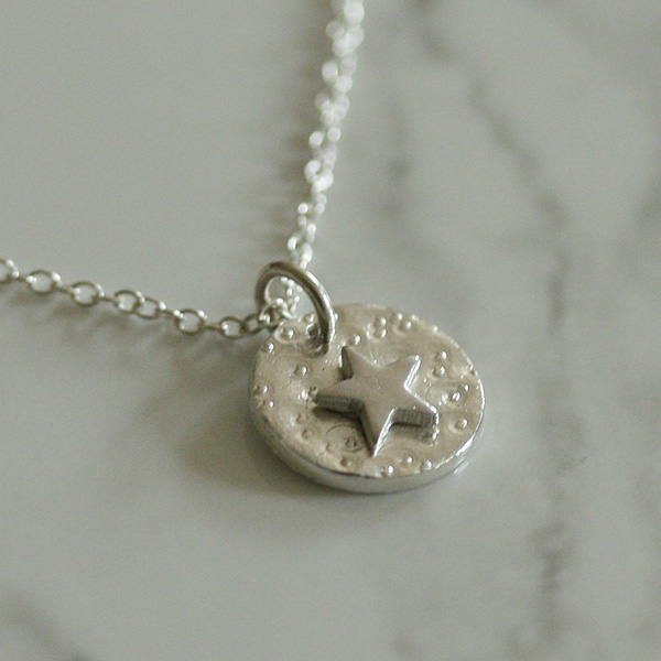 Silver Star Necklace, Star Jewellery