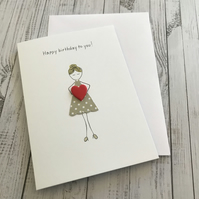 Happy birthday to you card, Happy birthday card