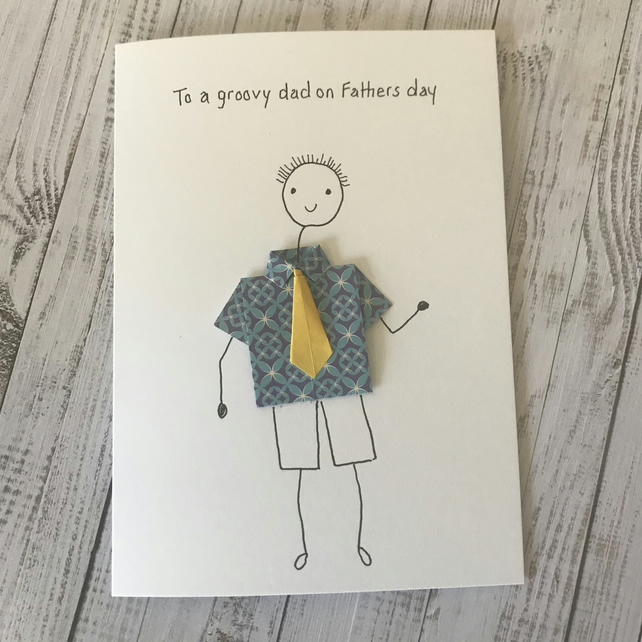 Fathers day card, Personalised