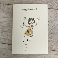Divorce card, Personalised card
