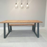 Trapezium Dining Table
