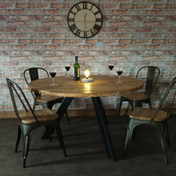 Round Tripod Dining Table