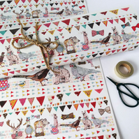 Recycled gift wrap - Best dressed