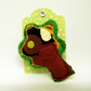 Woodland Tree - Felt and Fabric Brooch