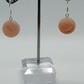 Druzy Agate bead earrings