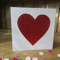 Valentines Day Heart Card - Valentines Card - Valentines Day Card