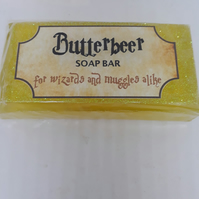 Harry Potter inspired Butterbeer Soap Bars