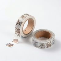 Easter, Spring, Baby Animals Decorative Washi Tape, Picture Decorative Tape